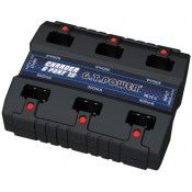 1S, (6 series) Lipo Battery charger for Eflite & Nine Eagles. Input DC7.5-18V=1A or USB 4.8-5V=1A,  Output 600mA/4.2V x 2, 300mAh/4.2V x 4