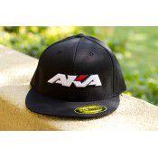 AKA BASEBALL CAP FLATBILL 'FLEXFIT' (BLACK) by AKA