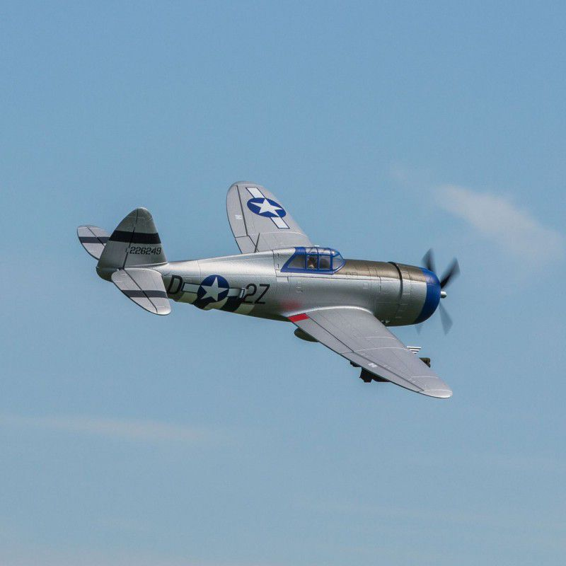P-47 Razorback 1 2M PNP, Installed Flaps & Retracts by E-Flite