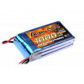 Gens ace 1000mAh 11.1V 25C 3S1P Lipo Battery Pack  72.37x 35.75 x 19.40mm  89g T Plug (Deans)