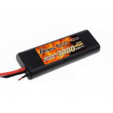 Gens-Ace 3000mAh 7.4V 2S1P, 22.5 x 47.68x138.05mm, 196g, Classic ROAR approved with XT60