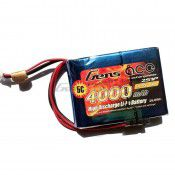 Gens Ace Lipo Battery for Receiver 7.4v 4000mAh 69.13 x 51.02 x 19.12mm 151g w/JST
