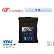 N802 AC 240V/2A, 20W, 4-8S Nimh/Nicd Charger by GT Power