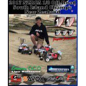 NZRCA 1/8 Scale Off-Road South Island Champs - Jayden Jamieson TQ's and wins