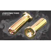 ORCA Gold 5MM Male Bullet Connector 2pcs