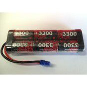 EP 7.2V NiMh SC3300 Stick Battery pack With EC3 Lead