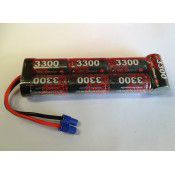 EP 8.4V NiMh SC3300 Stick Battery pack with EC3 Lead, Suit ECX