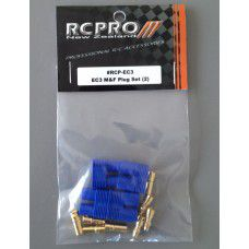 EC3 Plug M&F 2 pair, by RC Pro