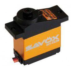 Savox Micro size 4.6kg/cm Digital Servo, 0.16sec, 6.0V, 15.8g, 22.8x12.0x29.4mm
