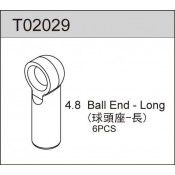 4.8 BALL END - LONG (6pcs) TS2TE, TS2, TC02, TC02SC