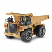 #1540 2.4G 6Ch RC  Dump Truck w/die-cast cab, 1/18 scale by HUINA