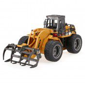 **TOP**  #1590 2.4G 6Ch RC Log Loader, scale 1/18 by HUINA