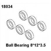 Ball Bearing 8*12*3.5, RCPRO 1/18 MT