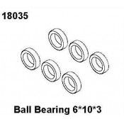 Ball Bearing 6*10*3, RCPRO 1/18 MT