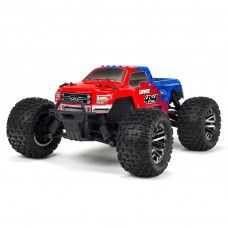 1/10 GRANITE 3S BLX 4WD Brushless Monster Truck with Spektrum RTR, Red/Blue by ARRMA