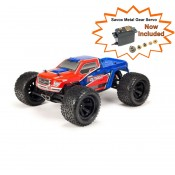 NEW Granite Voltage 2WD Mega 1/10 MT RTR Red/Blue Includes Metal Gear Savox Servo NiMh Battery & Charger SRP$349 by ARRMA