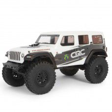 1/24 SCX24 2019 Jeep Wrangler JLU CRC Rock Crawler 4WD RTR, White by Axial