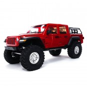 1/10 SCX10 III Jeep JT Gladiator Rock Crawler with Portals RTR, Red by Axial