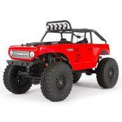 SCX24 Deadbolt 1/24th Scale Elec 4WD - RTR, Red