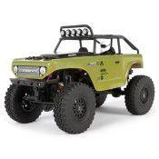 SCX24 Deadbolt 1/24th Scale Elec 4WD - RTR, Green