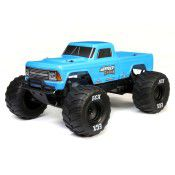 1/10 Amp Crush 2WD Monster Truck Brushed RTR, Blue by ECX