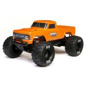 1/10 Amp Crush 2WD Monster Truck Brushed RTR, Orange by ECX