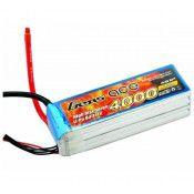 Gens Ace 4000mAh 4S 14.8v 120/60C 140x43x34mm 446g EC5 Plug