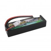 Gens Ace 5500mAh 2S 7.4v 50C 139x47x25mm 255g EC5 Plug XH Balance Hadcase Basher Series