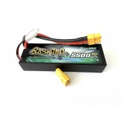 Gens Ace 5500mAh 2S 7.4v 50C 139x47x25mm 255g XT60 Plug + AMASS  XT60 to Deans adapter XH Balance Hadcase Basher Series