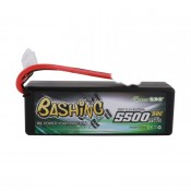 Gens Ace 5500mAh 3S 11.1v 50C 138x46x38mm 375g EC5 Plug XH Balance Hardcase Basher Series