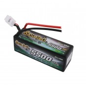 Gens Ace 5500mAh 4S 14.8v 50C 138x49x47mm 495g EC5 Plug XH Balance Hardcase Basher Series