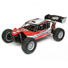 TENACITY Desert Buggy, AVC, Red/Gry: 1/10 4WD RTR by LOSI