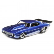 69 Camaro 22S No Prep Drag Car, Brushless RTR: 1/10 2WD Blue by LOSI