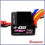 GM-Genius 60R (60A) ESC 1/10 Pro+T, 2S input by Graupner