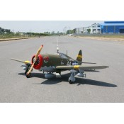 P-47 Wicked Rabbit 81in span (50cc-60cc) w/Electric Retracts by Seagull Models