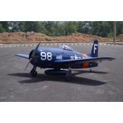 Seagull Grumman F8F-2, Bearcat, Navy (Blue Corsair)  - 71in (33cc) by Seagull Models