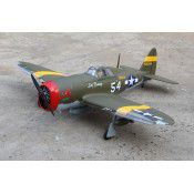 P-47D Little Bunny MK II 10cc span 52in with NACA drops, by Seagull Models