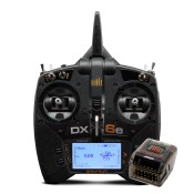 DX6e 6-Channel DSMX Transmitter with AR620 by Spektrum