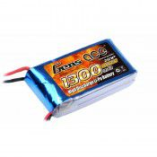 Gens-Ace 1300mAh 2S, 7.4v, 25C 70x34x15mm  85g With XT60 Plug