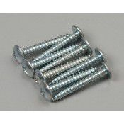 "Sheet Metal Screws Phillips 6x1"" (8)"