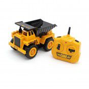 #9210A CAAE 2.4G RC Engineering Dump Truck 1:36 Scale 5CH 185x115x110mm by HUINA